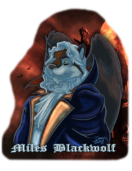 MFF - Miles Dracula Badge