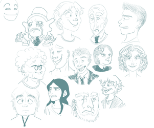 All these FACES