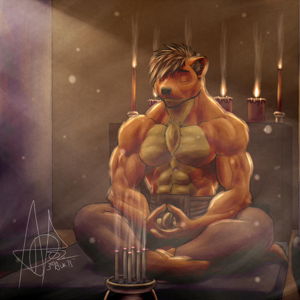 Meditating Weasel