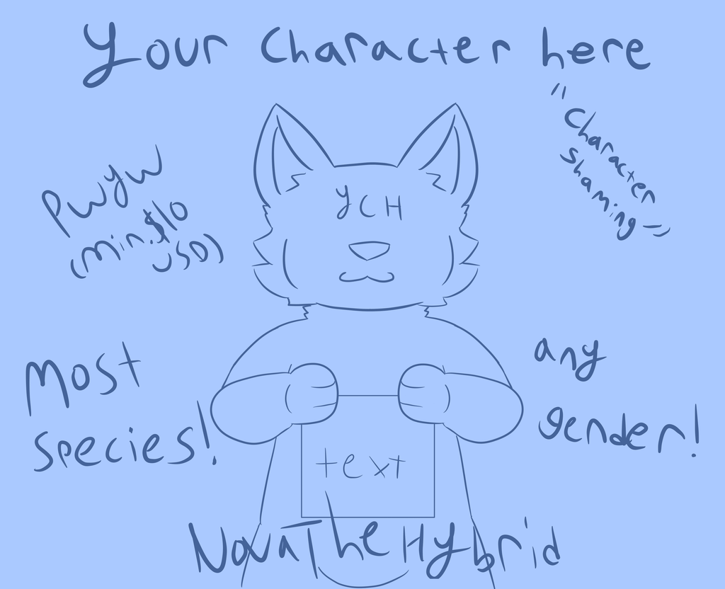 Character Shaming YCH! [OPEN]