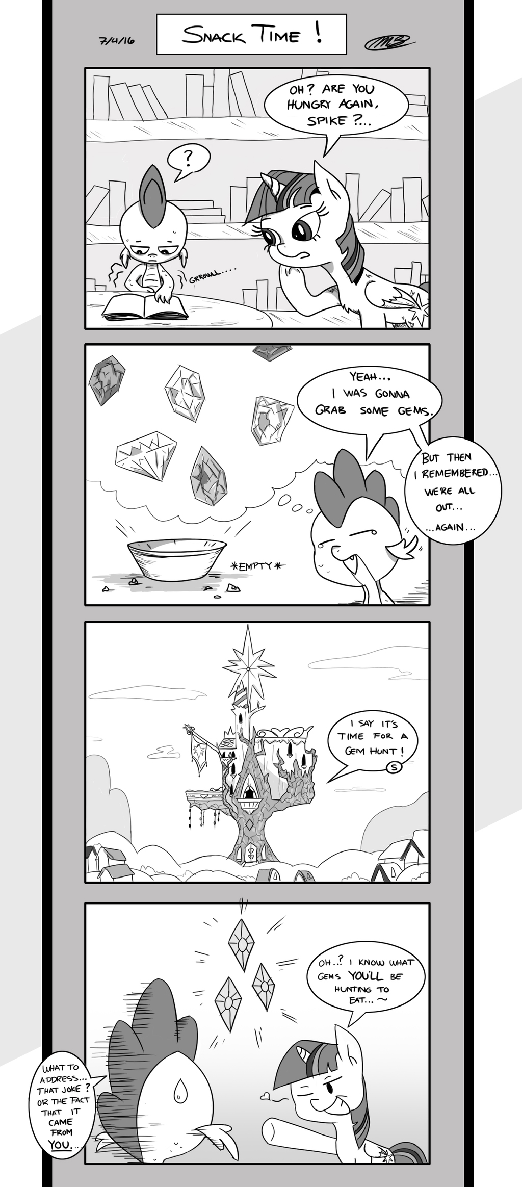 Friendship is Innuendo 01-01: Snack Time!
