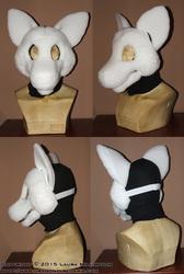 Toon Wolf Mask Base