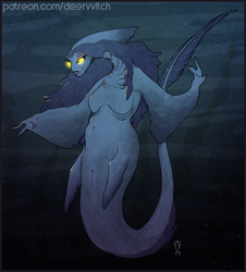 [Digital Colored Sketch] Sea Creature