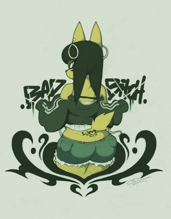 e4daeb79b Bad Bitch! ~ by SCIFIJACKRABBIT
