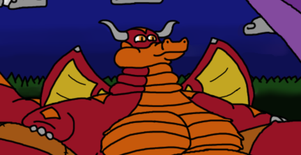 Wide-hipped dragon