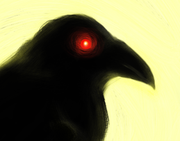 Drawlloween #11: Raven