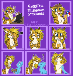 Shorttail Telegram Stickers 2