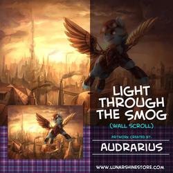 Light Through the Smog by Audrarius