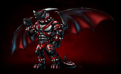 Akanos the Rubber Dragon