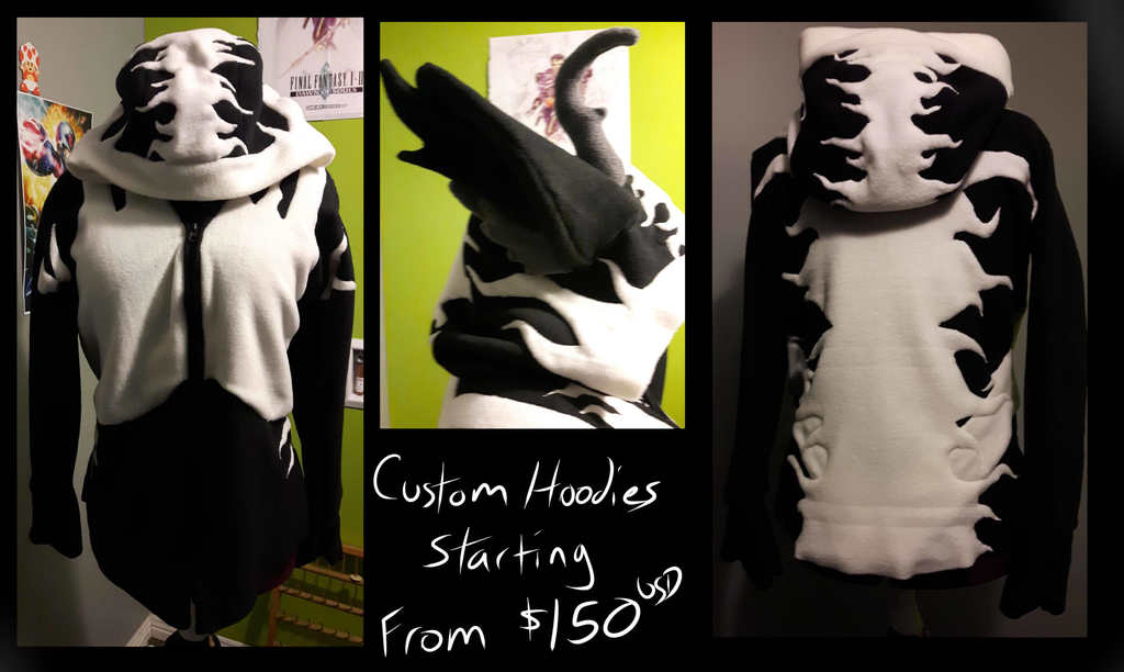 Most recent image: Custom Hoodie's Commission Open!