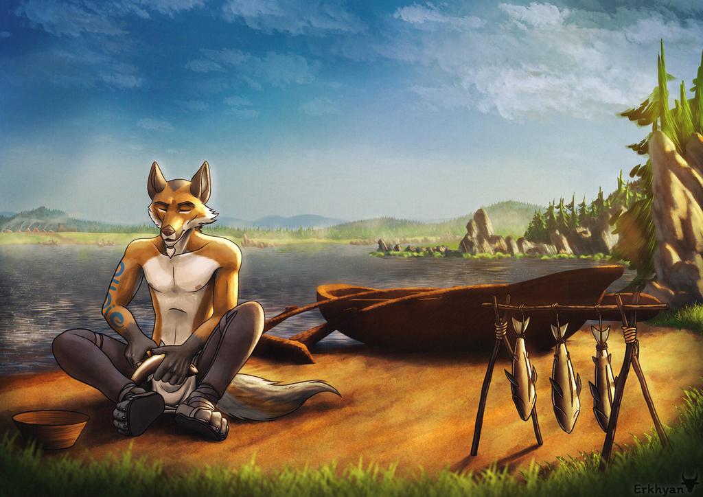 Most recent image: Commission: Sakara
