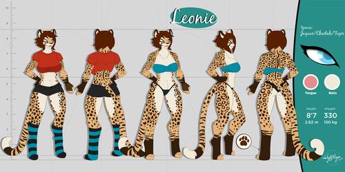 Leonie ref sheet SFW