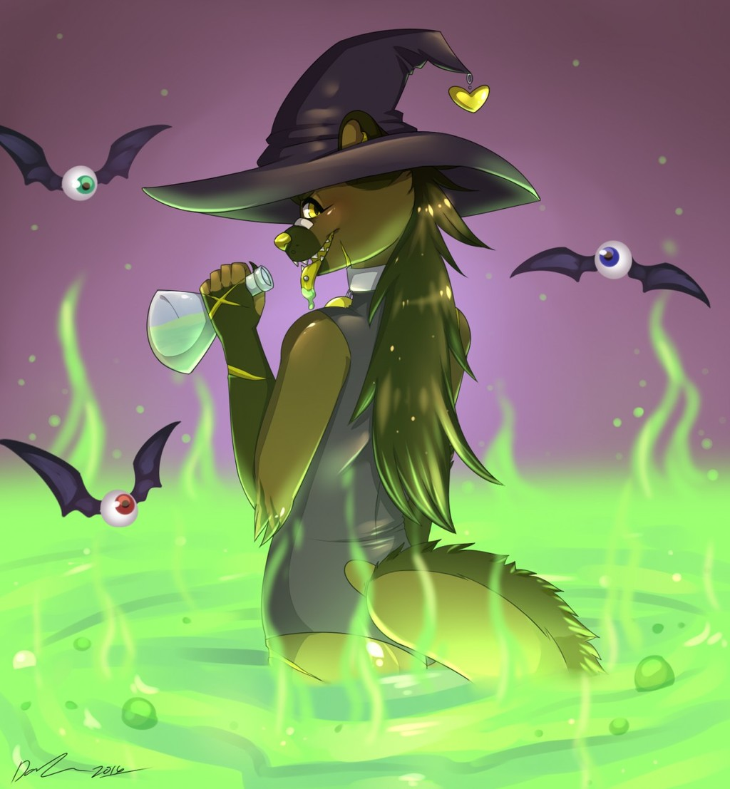 Most recent image: Poisonous Witch