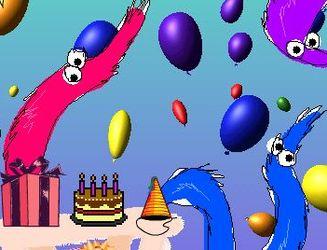 [GIFT] worm birthday