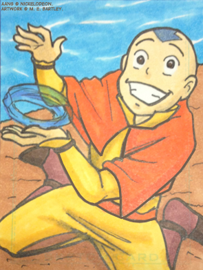Aang Art Card