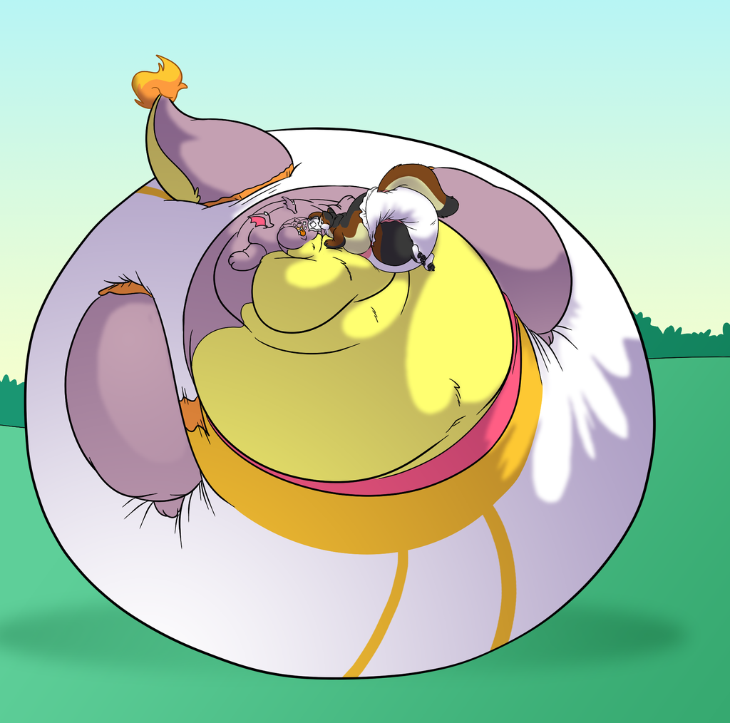 Fat Pampered Roo