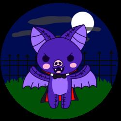 Kawaii-o-ween 2017: Evil Vampire Bat Doll