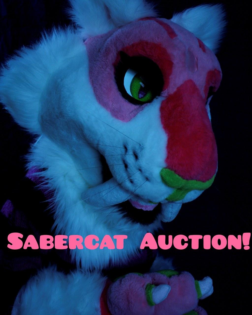 Most recent image: Saber still up for auction!