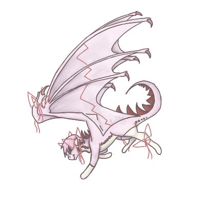 Commission - Madoka Kaname Dragon