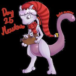 Pokeddexy day 25 - Mewtwo