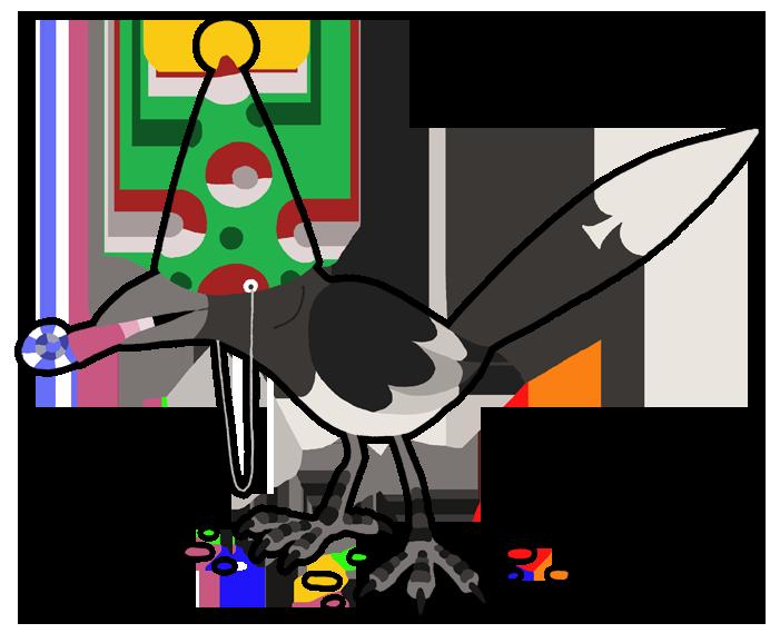 Featured image: Bird day gift ~ By Kiguren