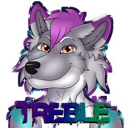 [C]OnyxVioletSky Galaxy Badge