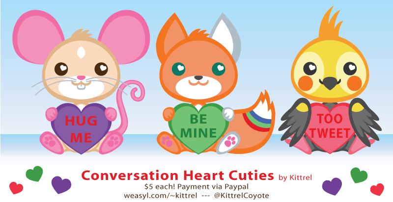 Conversation Heart Cuties