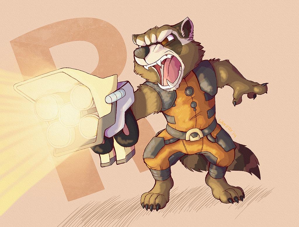 Rawrcket Raccoon
