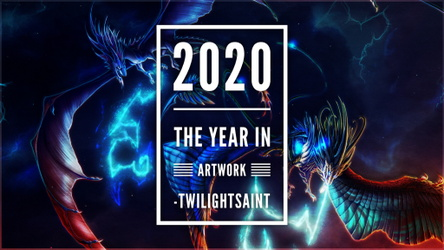 2020 / The Year in Artwork //