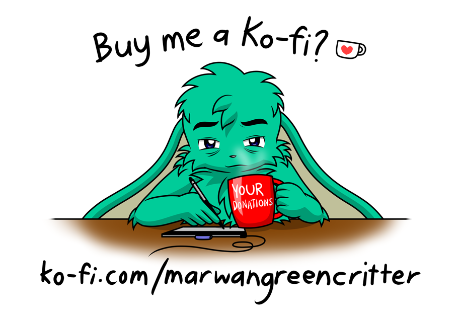 Most recent image: Ko-fi