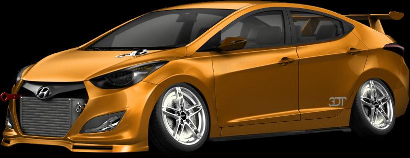 It's a badass Hyundai elantra (Original pic)