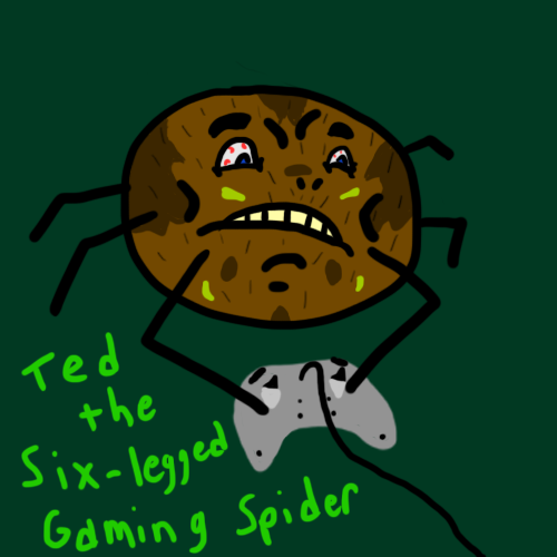 Ted the Six-legged Gaming Spider