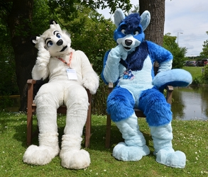Couple of Furs in the Park
