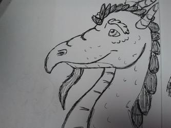 dragon head shot