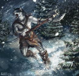 Chris the Barbarian