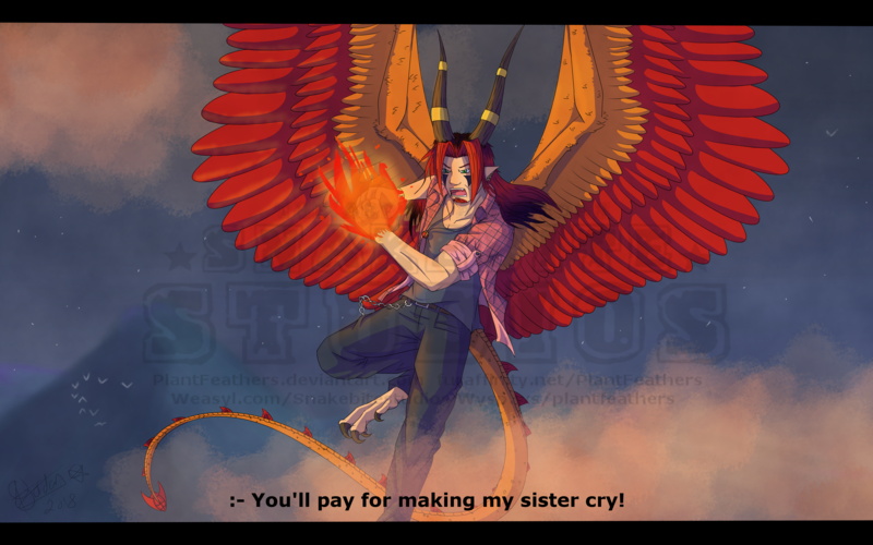 Featured image: You made her cry, now I'm mad!