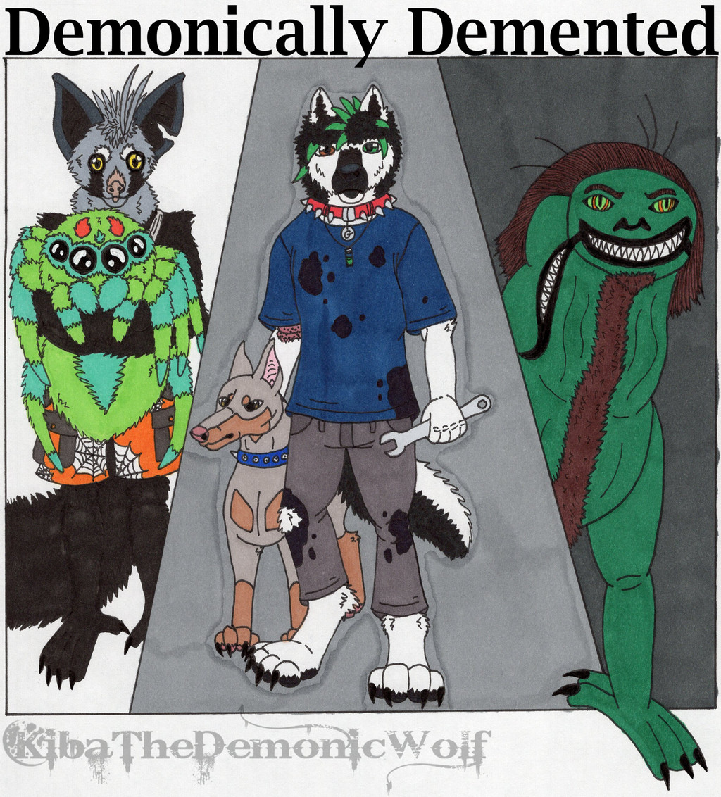 Demonically Demented Cover