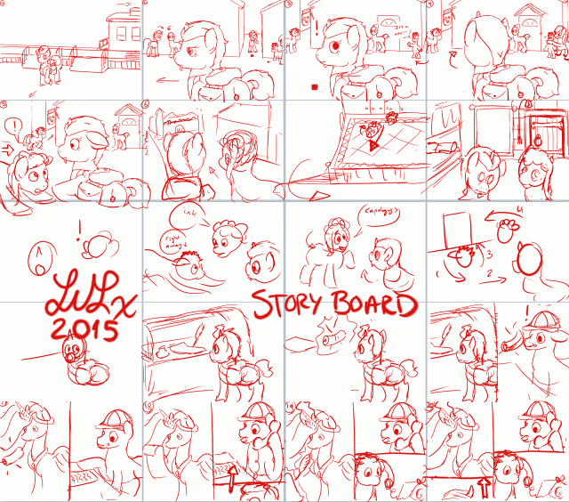 Storyboard - A Heck of a Job for Wrecking Ball