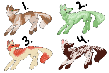 Wolf Adoptables