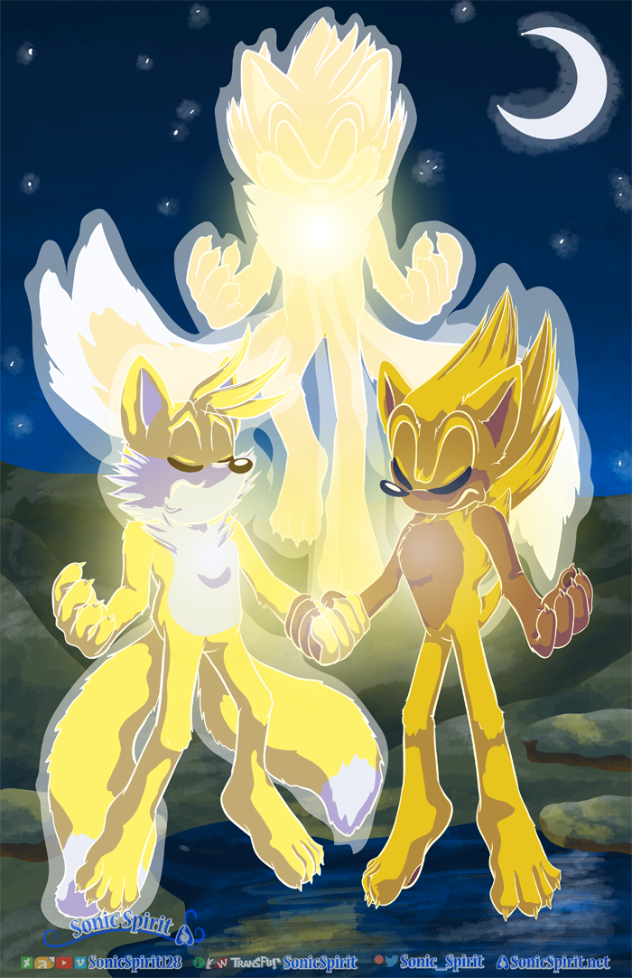 Super Sonic and Super Tails Fusion for hker021