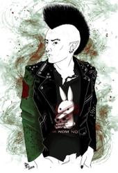 Just little bit of punk