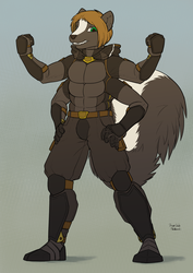Warpstripe - Superhero Multi-Skunk
