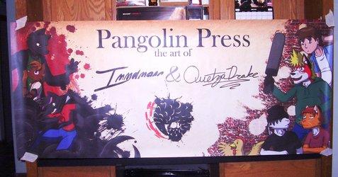 Pangolin Press at Anthrocon 2013