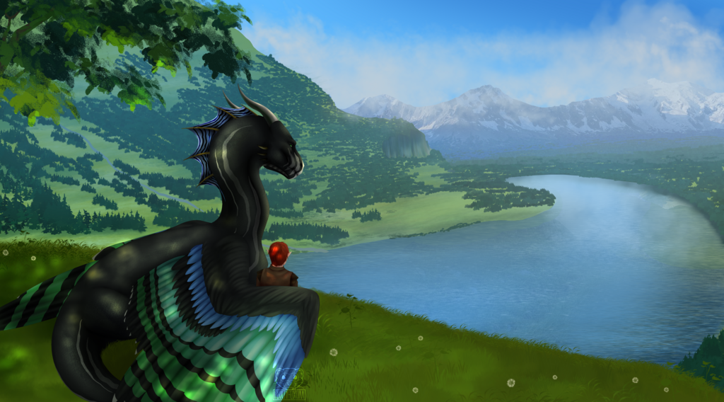 Most recent image: Commission - Through the Valley