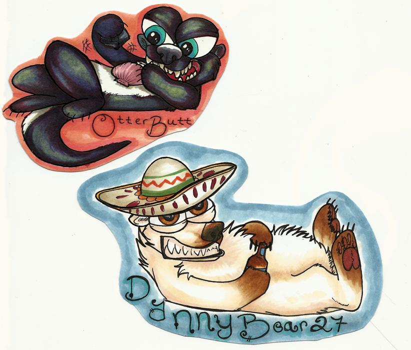 RF Buggy Badges