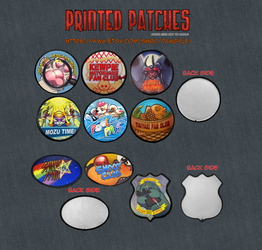 patches advertisement
