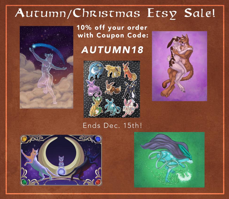 Autumn-Christmas Etsy Sale!