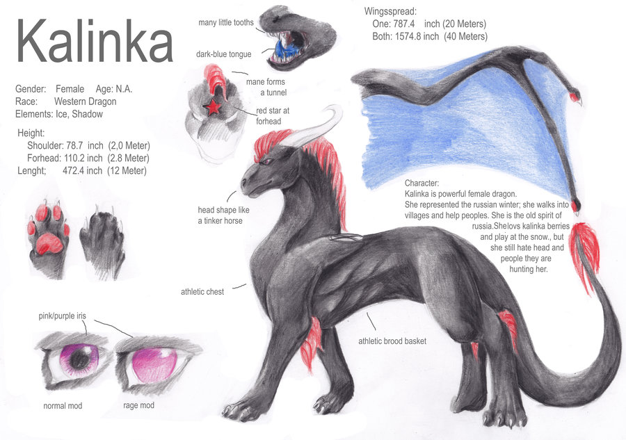 Most recent image: Kalinka Ref-Sheet