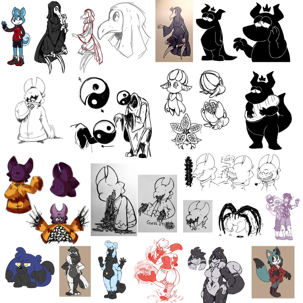 Misc. Character Doodle Dump