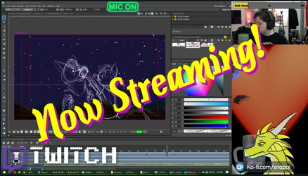 Animation assembly stream!